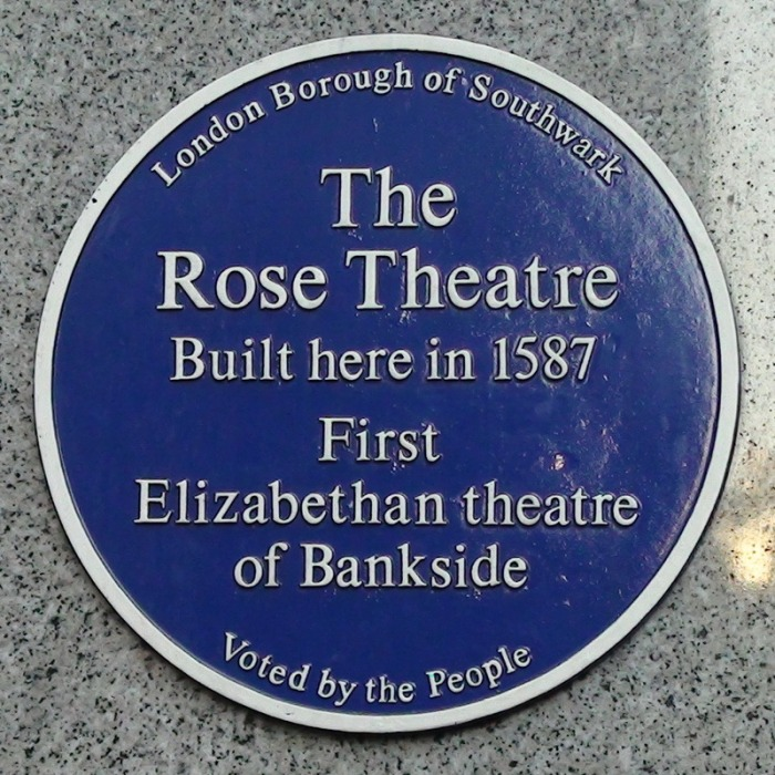 The Rose Playhouse, Bankside (1587)